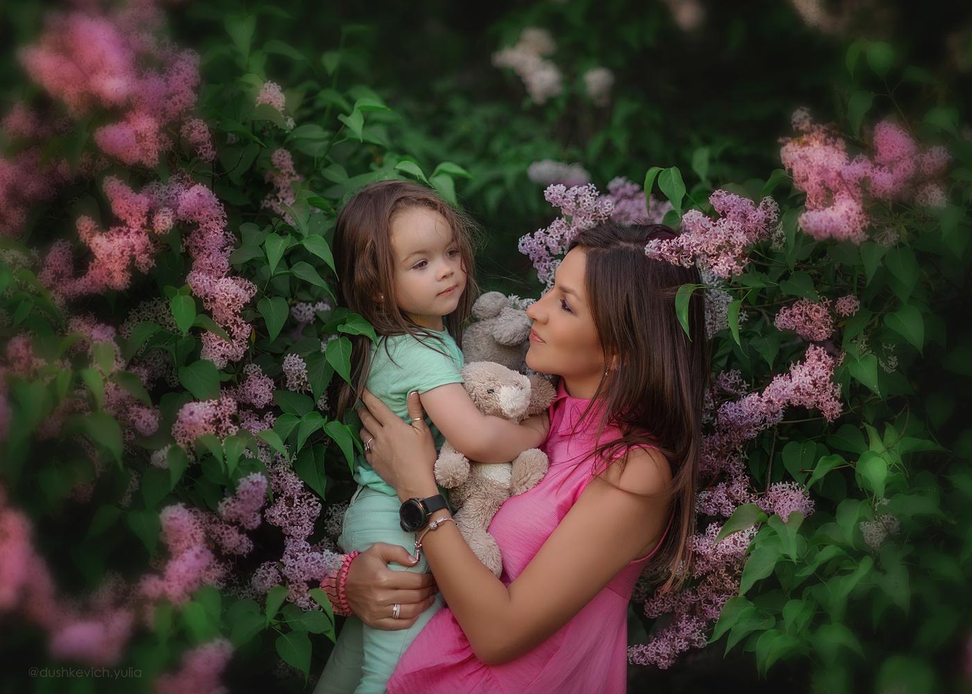 Картинки о маме и дочке