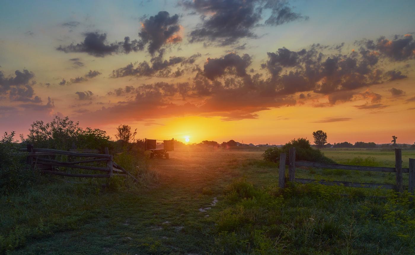 сих картинки деревни летом восход пожелания, новогоднюю ночь
