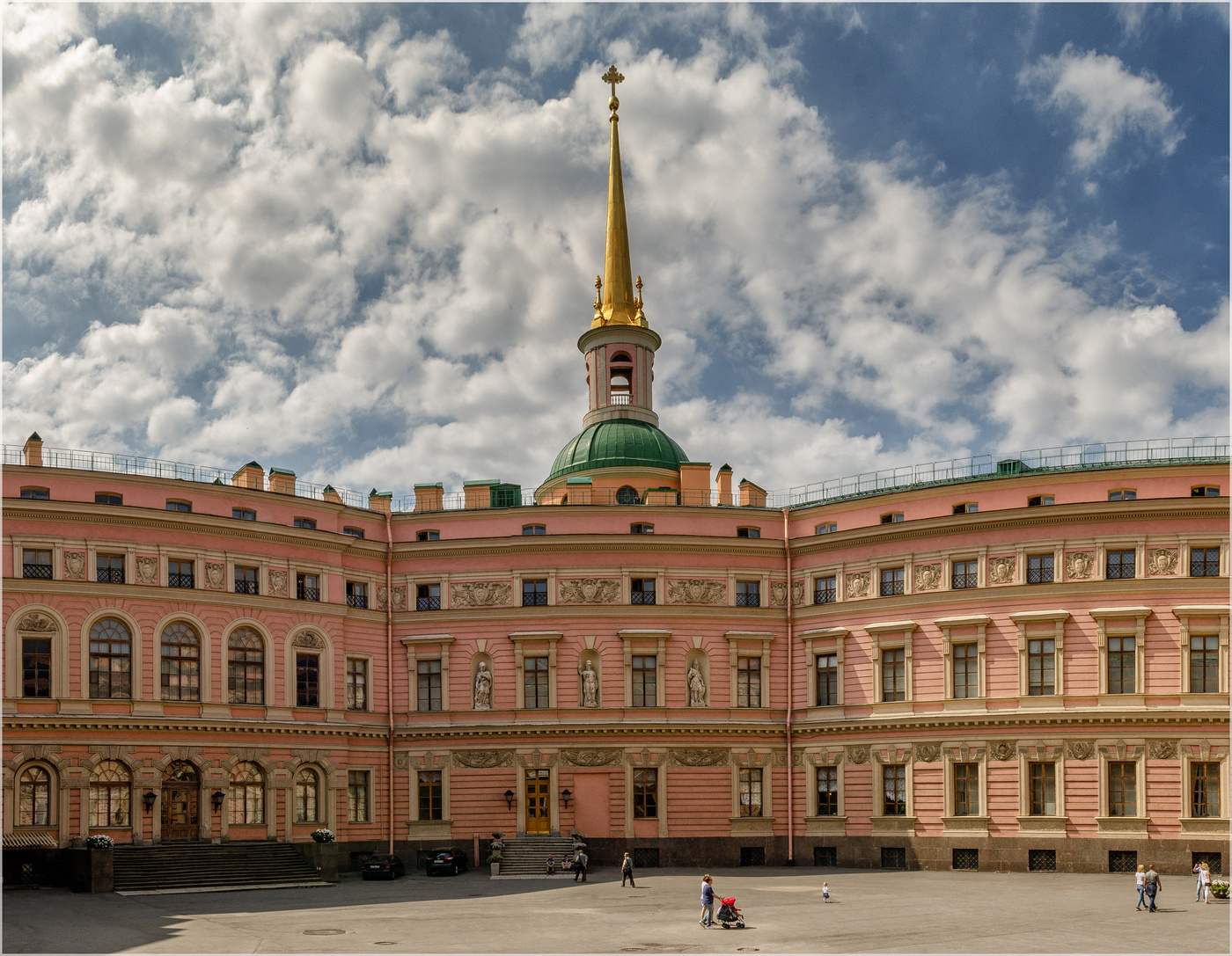 Михайловский замок фотосессия