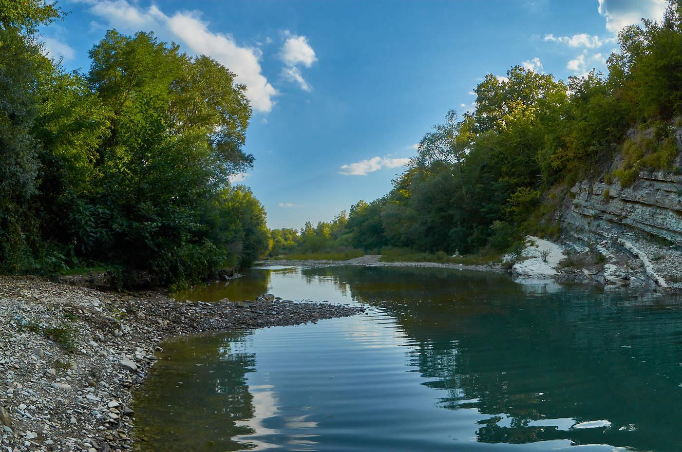 Река мезыбь дивноморск рыбалка